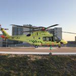Ambulanshelikoptern i VGR