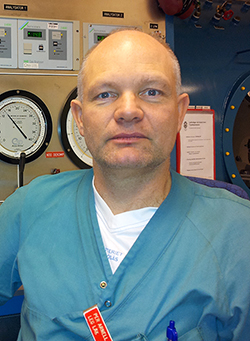 Per Arnell Narkosläkare och chef för ambulanshelikoptern i Västra Götalandsregionen.